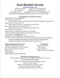 sorority resume template sorority resume template resume best career images on career