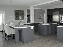 white kitchen cabinets with grey walls grey wood kitchen flooring kitchen floor