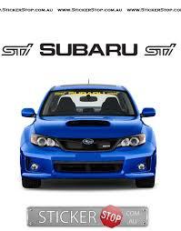 subaru logo subaru windshield sticker u2014 sticker stop