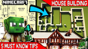 housebuilders 5 must know tips for minecraft house builders youtube
