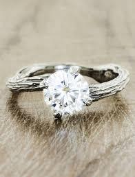 unique engagement ring nature inspired organic laurel f jpg v 1503099652 - Nature Inspired Engagement Rings