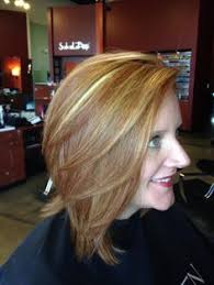 natural red hair with highlights and lowlights beautiful blonde hair colour created by danielle buttazzoni using