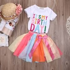 infant thanksgiving dresses cool usa toddler kids baby girls clothes t shirt tops tutu