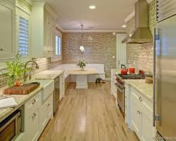 white galley kitchen ideas i don t particularly like the floor to ceiling tile here but it