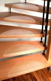 stufenmatten fuer treppe stufenmatten set für treppenstufen 15 stück klar größe nach