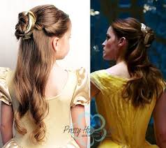 emma watson hairdos easy step by step pretty hair is fun belle emma watson ballroom and library