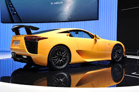 lexus lfa torque lexus lfa the end of production