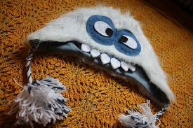 Yeti Halloween Costume Byov Bring Vegetables Yeti Hat