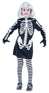 Skeleton Halloween Dress by Products Girls Skeleton Dress The Costume Corner Fancy Dress