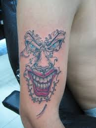tattoo joker mask mask tattoos and designs page 47