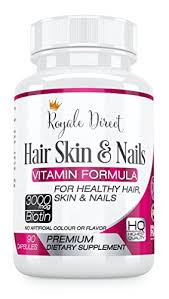 royale direct hair skin and nails vitamins with biotin 3000mcg