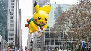 pikachu invades macy s thanksgiving day parade nintendo enthusiast