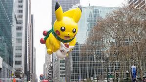 pikachu invades macy s thanksgiving day parade nintendo enthusiast