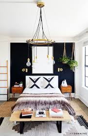 best ideas about wall behind bed pinterest curtains this starlet loft every millennial dream apartment