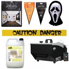 halloween party packs halloween low fog mist effect machine dj party pack 14 inc fluid