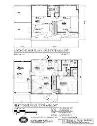 Small House Floor Plans With Loft by Cape Cod Floor Plans With Loft Home Planning Ideas 2017