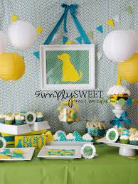 simplysweet treat boutique dog themed birthday party