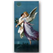aliexpress com buy canvas art vintage angel and child world