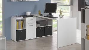 Tisch Schreibtisch Lexx Winkelkombination Tisch Bürotisch In Weiß