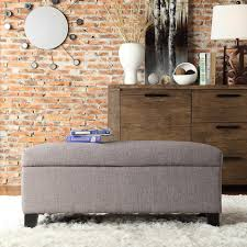 Bench Ottoman With Storage by Cool Upholstered Storage Benches Free Reference For Home And