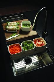 Kitchen Sink Cutting Board by New Kitchen Sinks Offer Additional Counter Space Do Everything