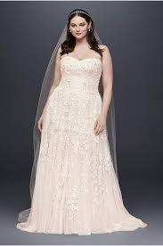 fall wedding dresses plus size ruffled organza plus size mermaid wedding dress david s bridal