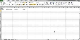 monthly budget template excel monthly spreadsheet template