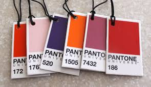 pantone color chips afternoon artist