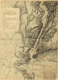 New York Relief Map by Maps Of The 42nd U0027s North American Service