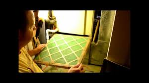 How To Design Home Hvac System How To Change Your Home Furnace Air Filter Youtube