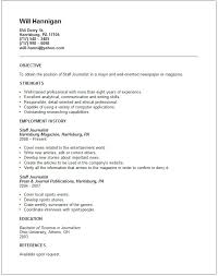 Scientific Resume Examples by Media U0026 Arts Resume Examples