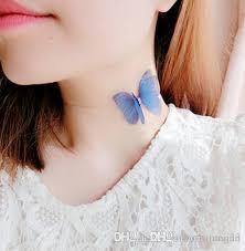 2018 fashion vintage jewelry butterfly wings