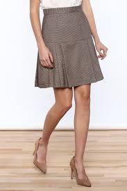tweed skirt s pig pleated tweed skirt from oregon by velvet edge