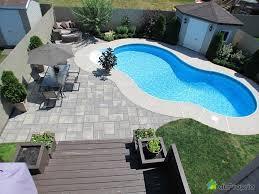 amenagement piscine exterieur cuisine meilleures idã es ã propos de amã nagement paysager pour