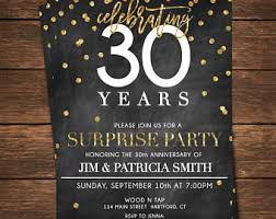 anniversary party invitations anniversary party etsy