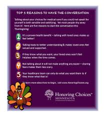 what to do over thanksgiving break twin cities medical society have the conversation this thanksgiving