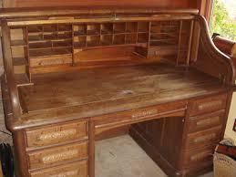 Roll Top Desk Oak Original 1800 U0027s Railroad Desk Solid Oak S Roll Top Antique Rare