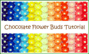how to make fondant or modeling chocolate flowers