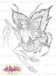 digital stamp instant download christmas fairy w by aurorawings