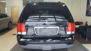 lincoln minivan used 2003 lincoln aviator auto for sale in toledo oh vin