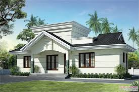 slope roof low cost home design kerala 2017 also budget house with
