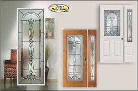 wood doors with glass inserts avocet classic curved bevels in traditional glass door