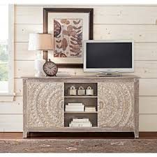 home decorators collection chennai grey wash storage entertainment