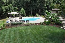Ideas For Backyard Privacy by Simple Landscaping Ideas For Backyard Thediapercake Home Trend