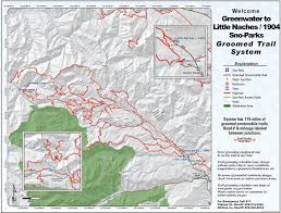 Yakima Washington Map by Greenwater To Little Naches Sno Park Maplets