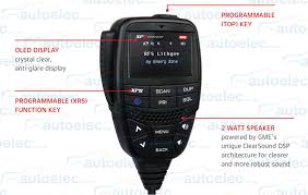 Gme Xrs Connect Super Compact 80ch Uhf Cb Radio Bluetooth Iphone