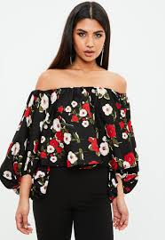 floral blouse floral balloon sleeve blouse missguided