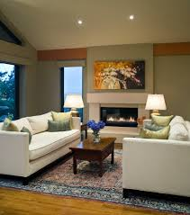 electric fireplace living room living room contemporary with