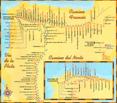 Spain And Portugal Map by Maps U0026 Paths Camino De Santiago Guide