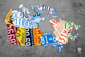 License Plate Usa Map by Map Of The World Digital Art By Mark Ashkenazi Gotartwork Com